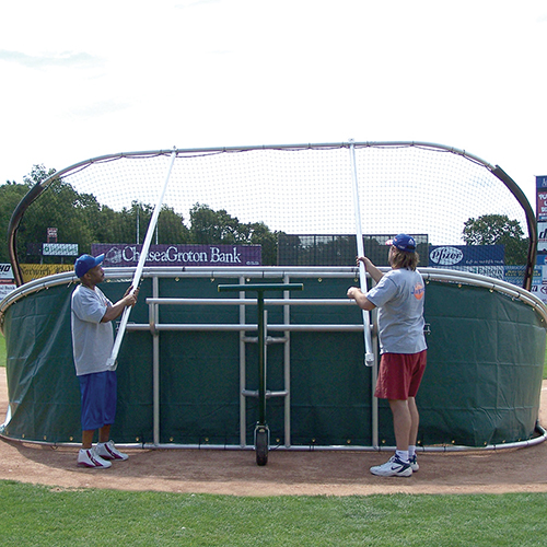Portable Batting Cages Backyard: Little Slam Portable Batting Cage