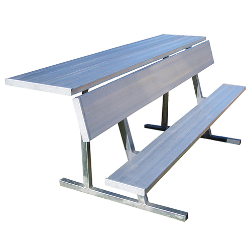 Players Bench With Shelf