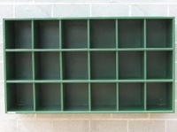 Helmet Rack ( 18 Helmet Capacity - 3 rows of 6)