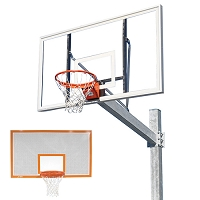 The Titan™ Galvanized Post - w/ Perforated Backboard
