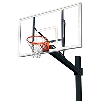The Titan™ Powder Coated Post - w/ Acrylic Backboard