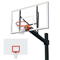 The Titan™ Powder Coated Post - w/ Steel Backboard