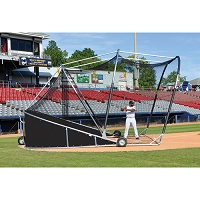 Big League Bomber Pro Batting Cage (Black)