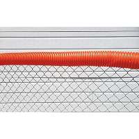Poly-Cap Fence Top Protection (100' Orange)