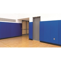 WallGuard™ Impact Wall Padding (lip top & bottom)