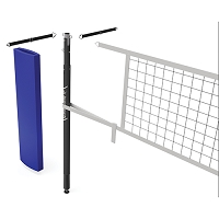 Carbon Ultralite™ Volleyball Net Center Upright System (3-1/2