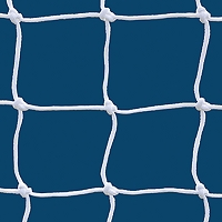 6mm Official White Soccer Net