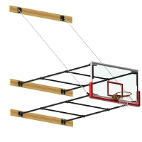 Stationary Backstop System (2'-4' Ext)
