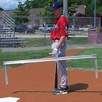 Batter's Box Template (Little League 3' x 6')