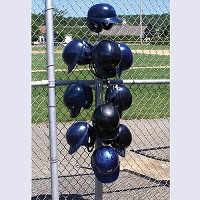 StackMaster™ Batting Helmet Storage Rack