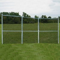 Permanent Baseball/Softball Backstop (3 Panel)