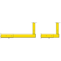 MAX-1™ Expandable Crossbar (Leveling Plate - 6'Ox20'U)