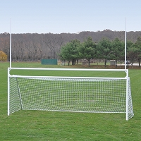 Deluxe Official Soccer/Football Goal (w/ Standard Backstays)