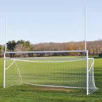 Deluxe Official Soccer/Football Goal (w/ European Backstays)