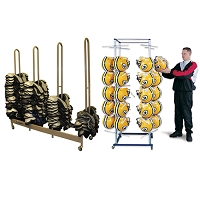 Football Equipment Storage Rack Package