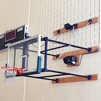 Fold-Up Backstop System (4'- 6' Ext)