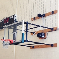 Fold-Up Backstop System (6'- 8' Ext)