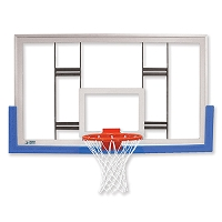 "42"" Rectangular Glass Conversion Backboard"