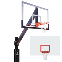 The Playground (Steel Backboard)