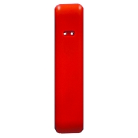 "SafePro™ 54"" Bolt-On Edge Padding (Scarlet Red)"