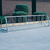 Portable Bicycle Rack (8 Capacity)