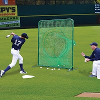 Portable Soft Toss/Batting Practice Screen