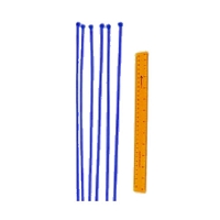 Safefoam Tubular Padding Ties (Set of 100 - Royal Blue)