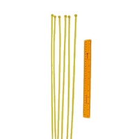 Safefoam Tubular Padding Ties (Set of 100 - Yellow)