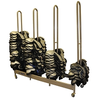 StackMaster™ Deluxe Shoulder Pad Rack