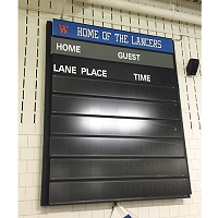 Indoor Swimming Scoreboard