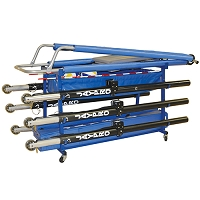 Volleyball Equipment Carrier - Vertical Stack (60