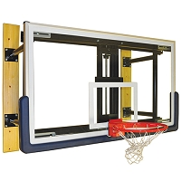 Glass Board Wall-Mounted Shooting Station w/o Height Adjuster