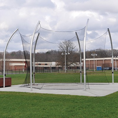 Discus Cage (w/ Net - No Sleeves)