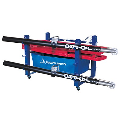 "Volleyball Equipment Carrier (48""L x 36""W - 6 Poles) - Deluxe"