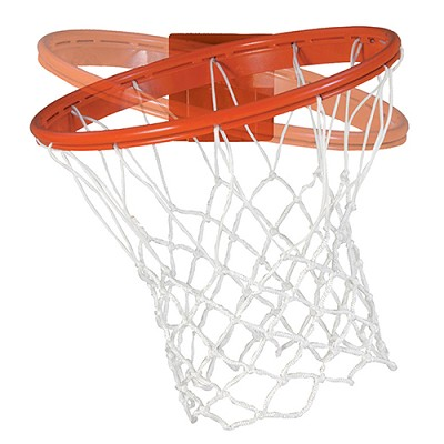 "Basketball Goal - Revolution Series, 180° Breakaway Goal (Tube-tie Net Attachment) (48"" Backboard) (Indoor) - NCAA, NFHS, FIBA Compliant"