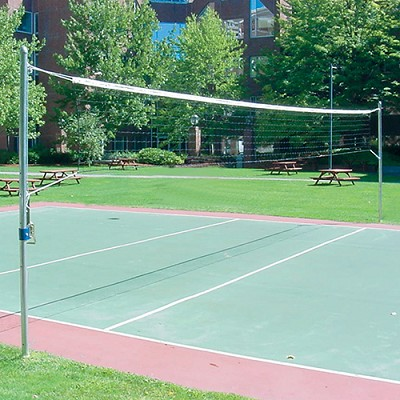 Recreational Outdoor Volleyball Uprights