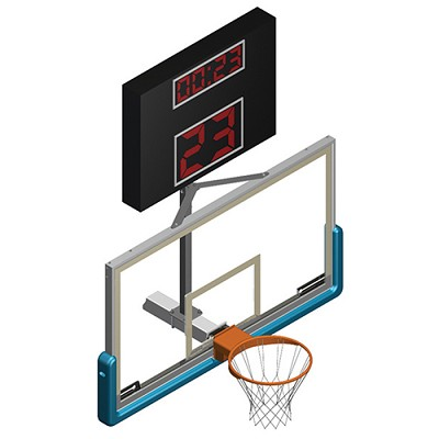 Shot Clock Mounting Bracket