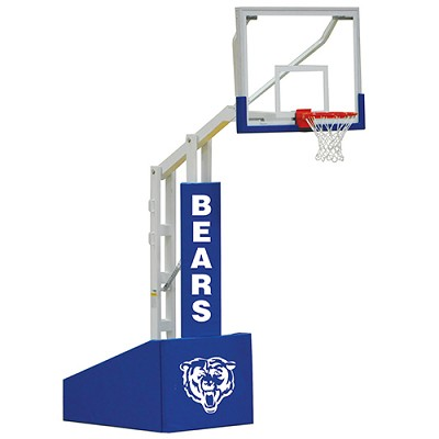 "Elite 5400 Portable System (4'6"" Board Extension, 72  Backboard)"