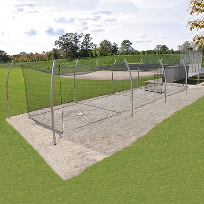 Professional Outdoor Batting Tunnel Frame (55')