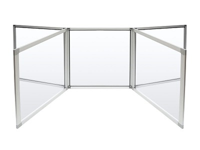 Clarity Shield - Tabletop - 5 panel divider